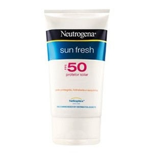 Protetor Solar Sun Fresh FPS 50 120ml Neutrogena